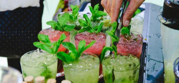 Jigger Bartenders en la feria Alimentaria con Granini en la presentación de Zitro